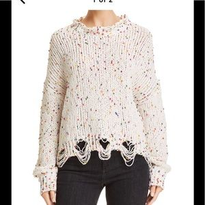 Honey Punch dotted Chinelle Sweater